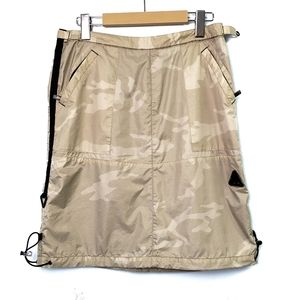 Triple Five Soul Hiking Skirt Camo Nylon